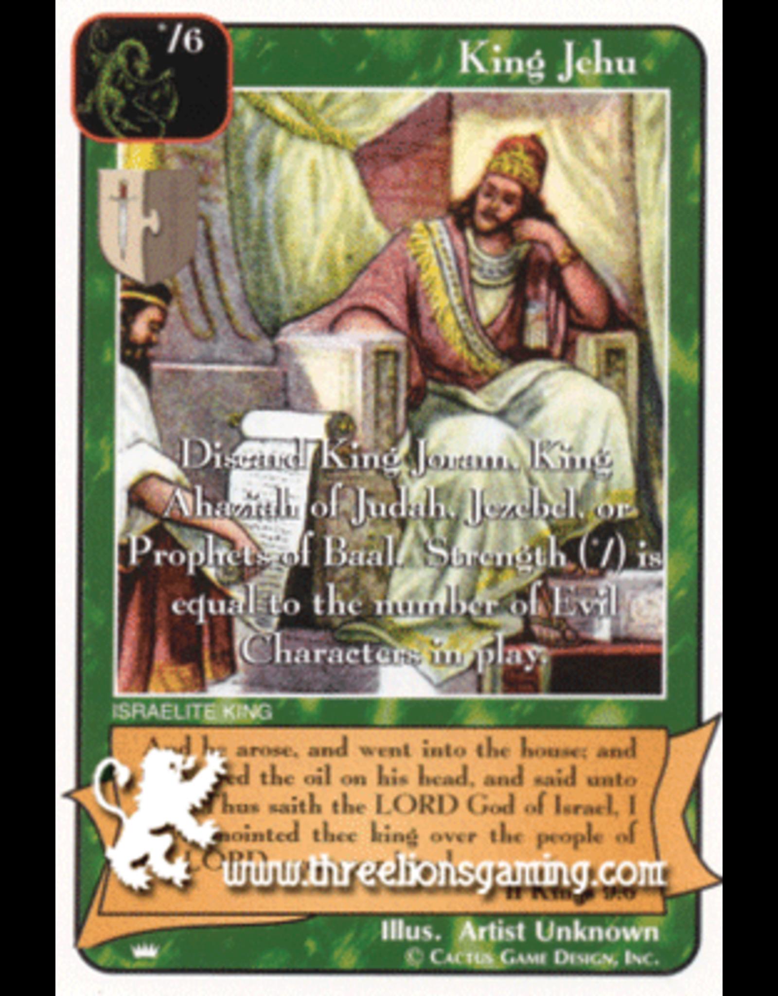 Ki: King Jehu