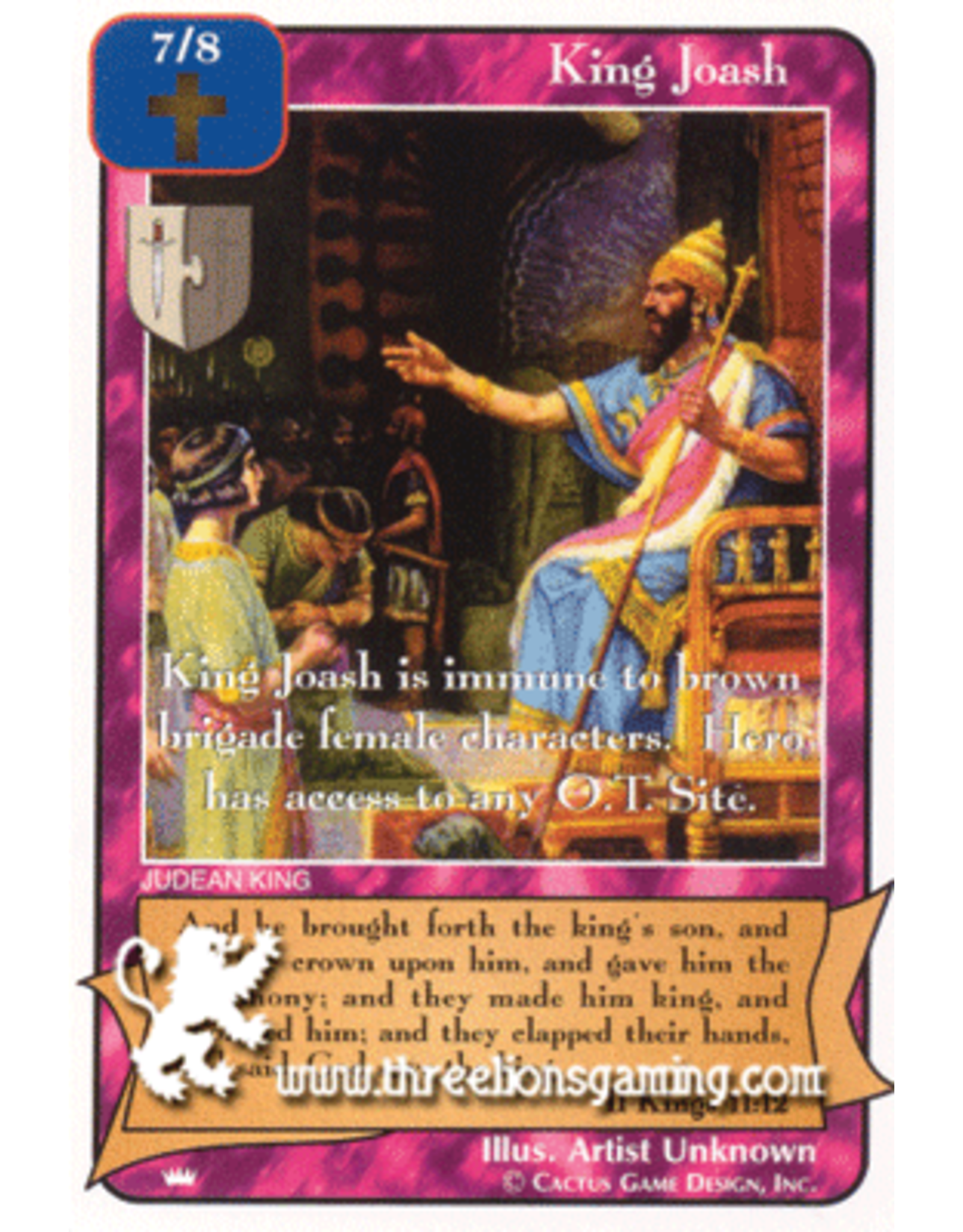 Ki: King Joash