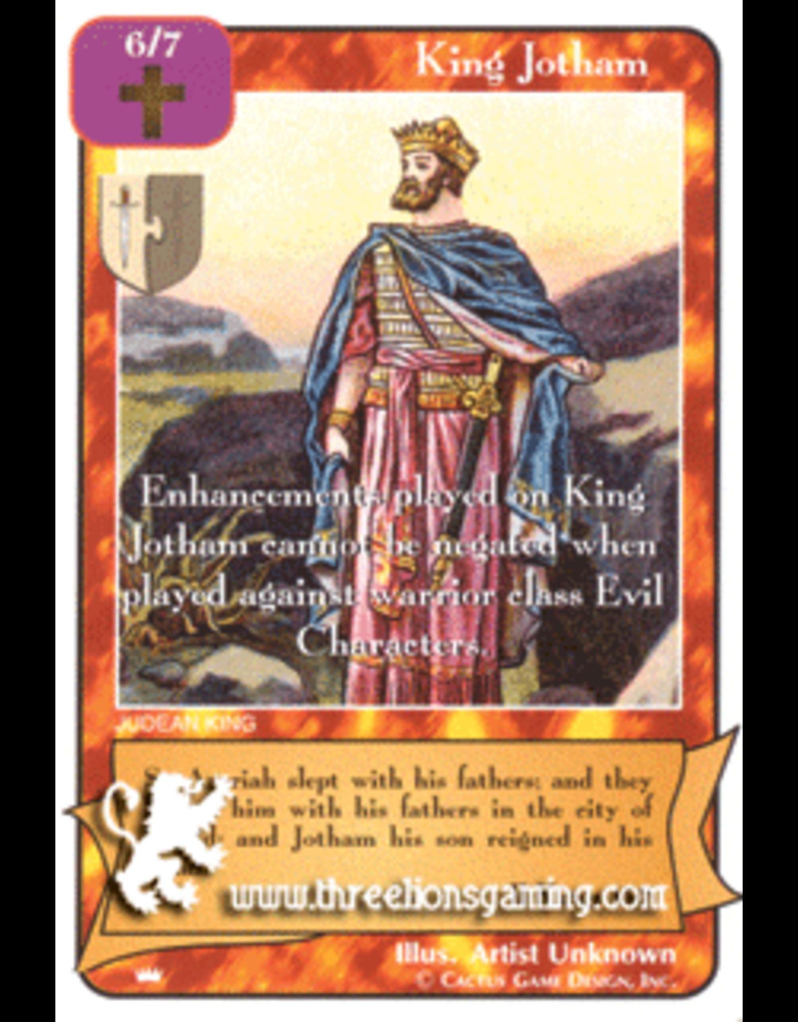 Ki: King Jotham