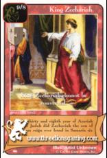 Ki: King Zechariah