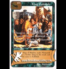 Ki: King Zedekiah