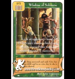 Ki: Wisdom of Solomon