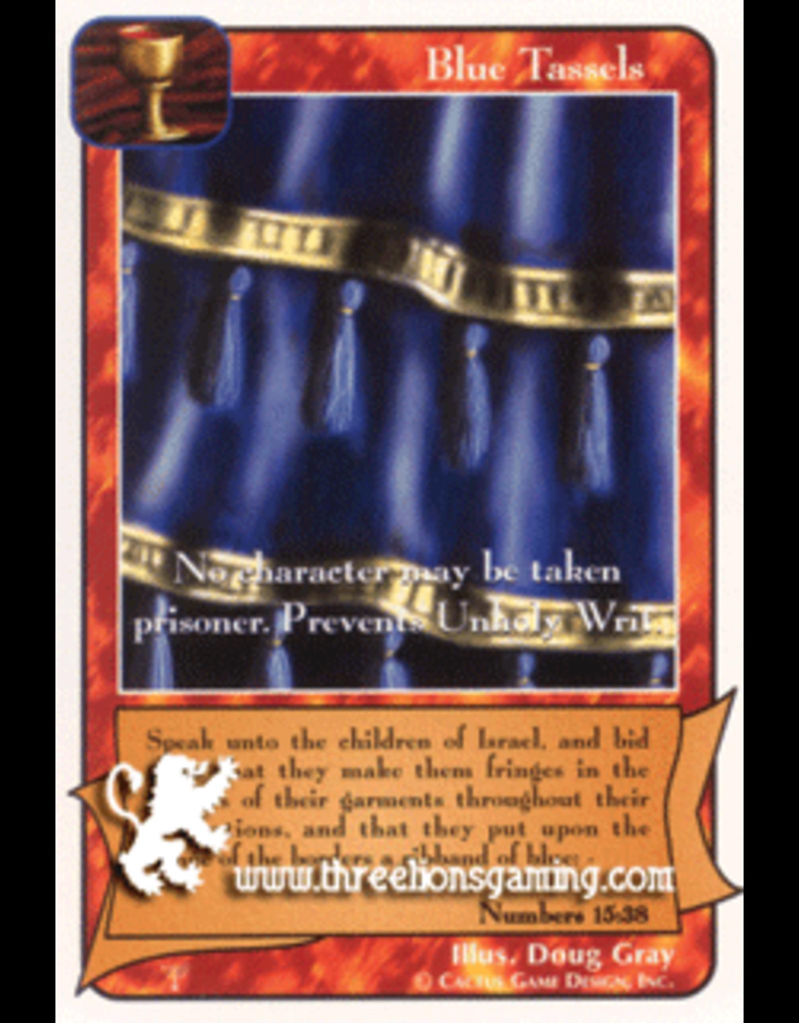 Pa: Blue Tassels