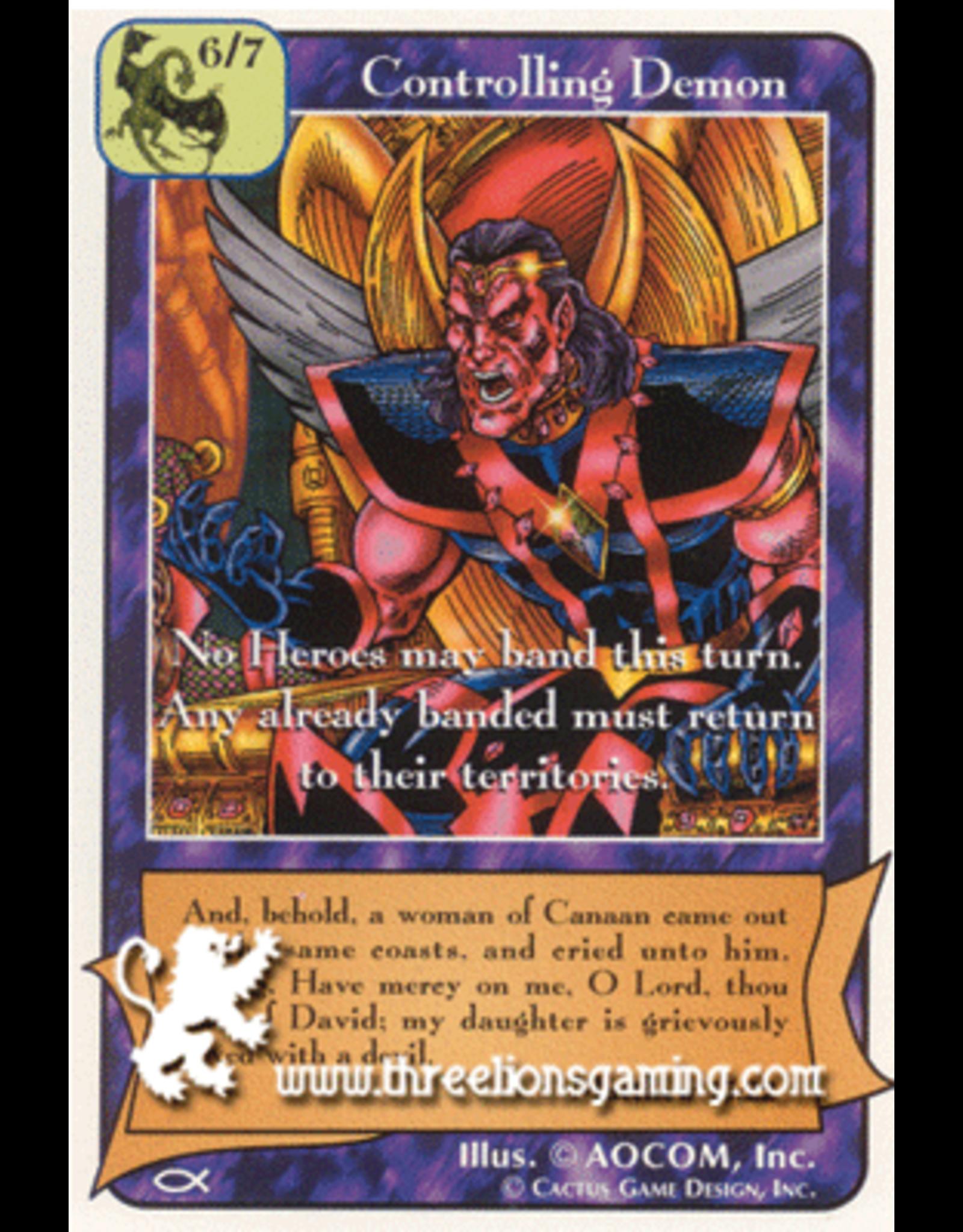 Ap: Controlling Demon