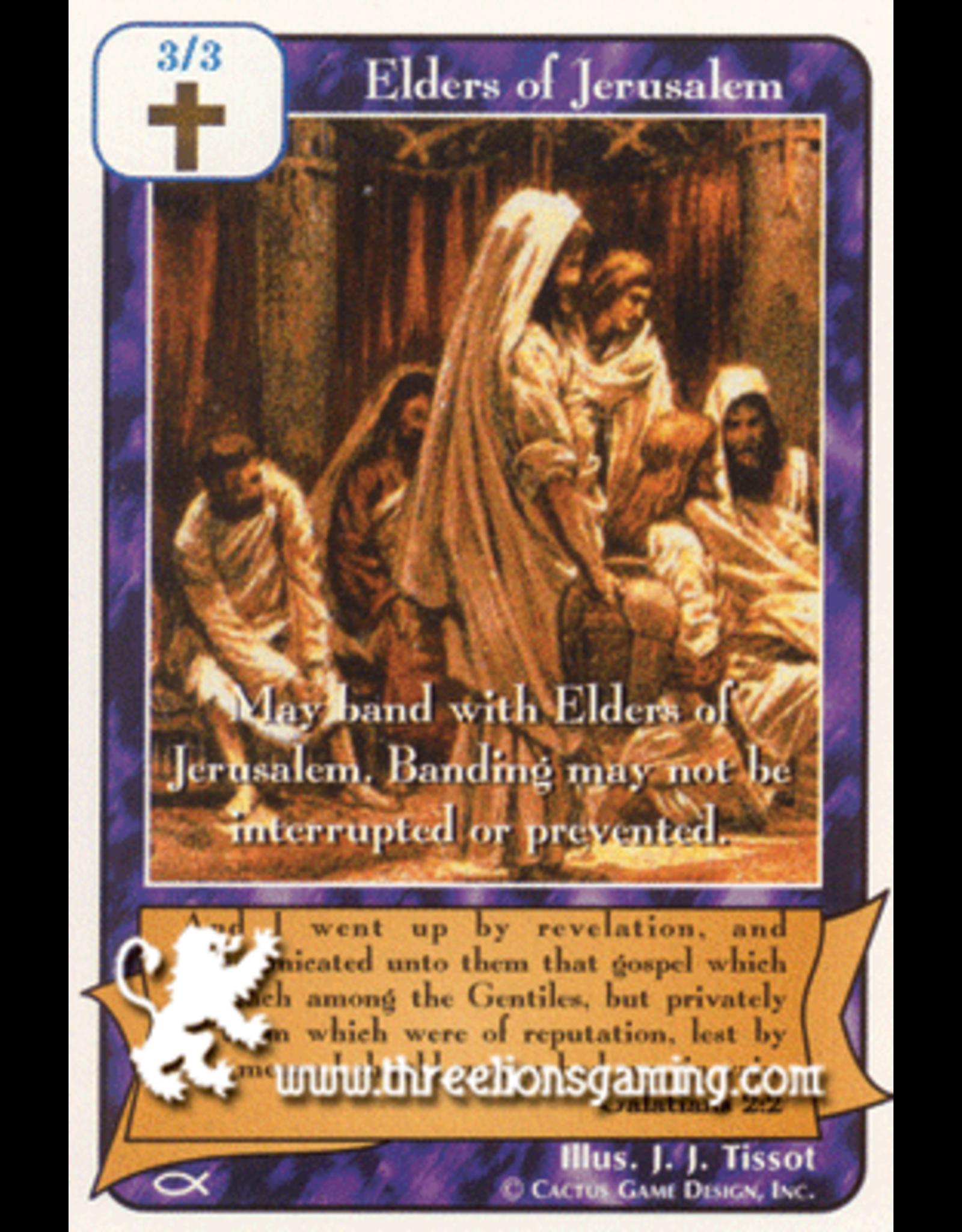 Ap: Elders of Jerusalem (Purple)