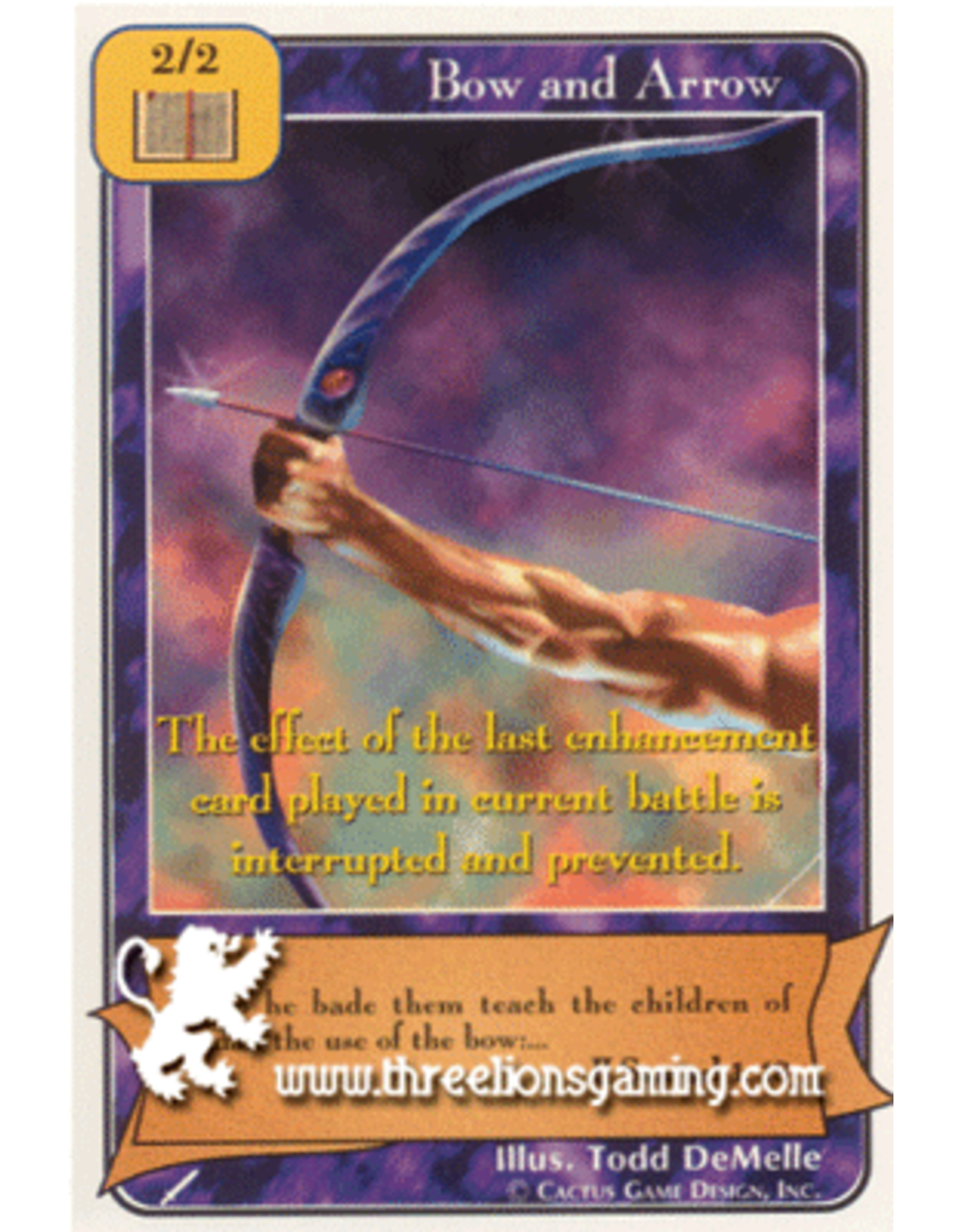 Wa: Bow and Arrow (Gold)
