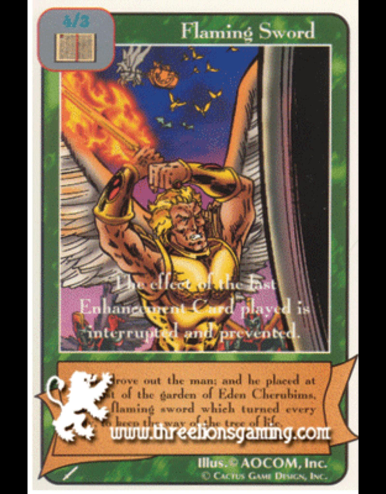 Wa: Flaming Sword