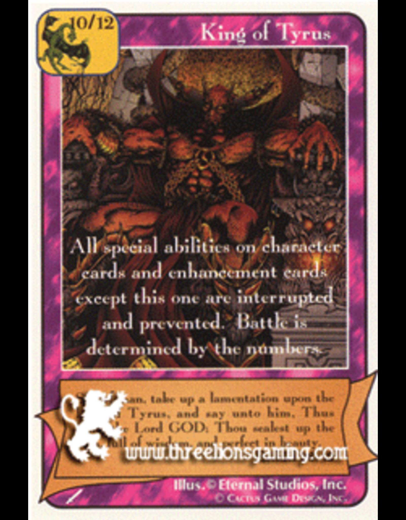 Wa: King of Tyrus