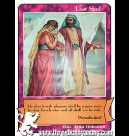 E/F: Lost Soul (Proverbs 21:7)