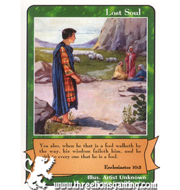 E/F: Lost Soul (Ecclesiastes 10:3)