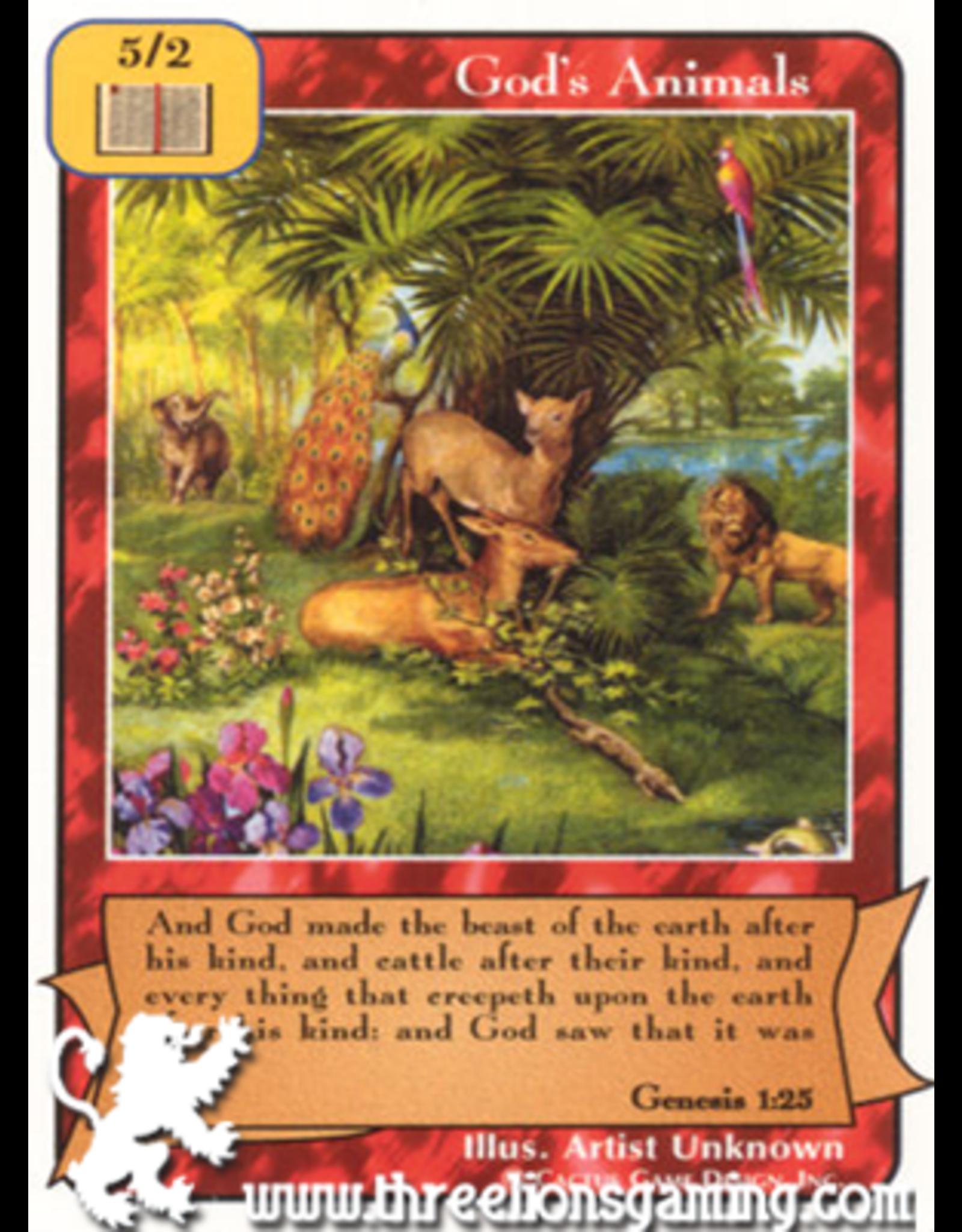 E/F: God's Animals
