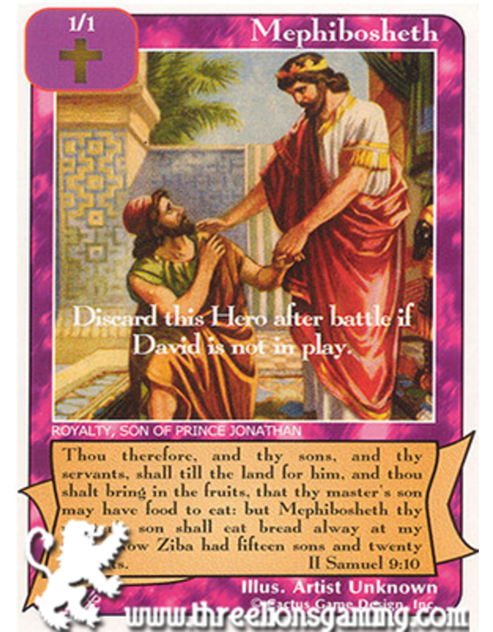 FoOF: Mephibosheth