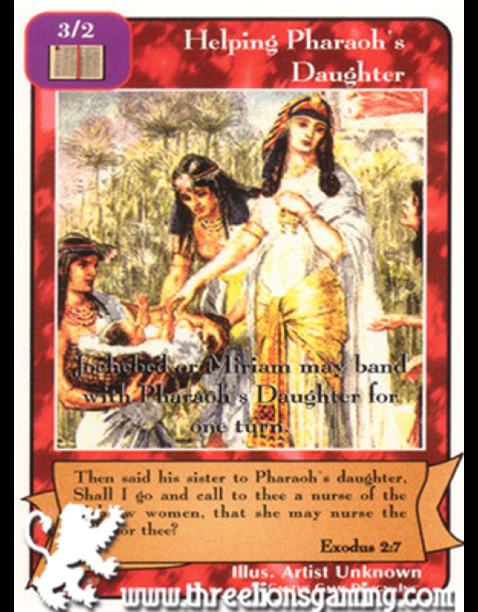 Pa: Helping Pharaoh's Daughter
