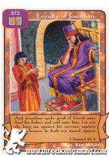 Orig: Loyalty of Jonathan