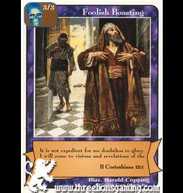 Ap: Foolish Boasting