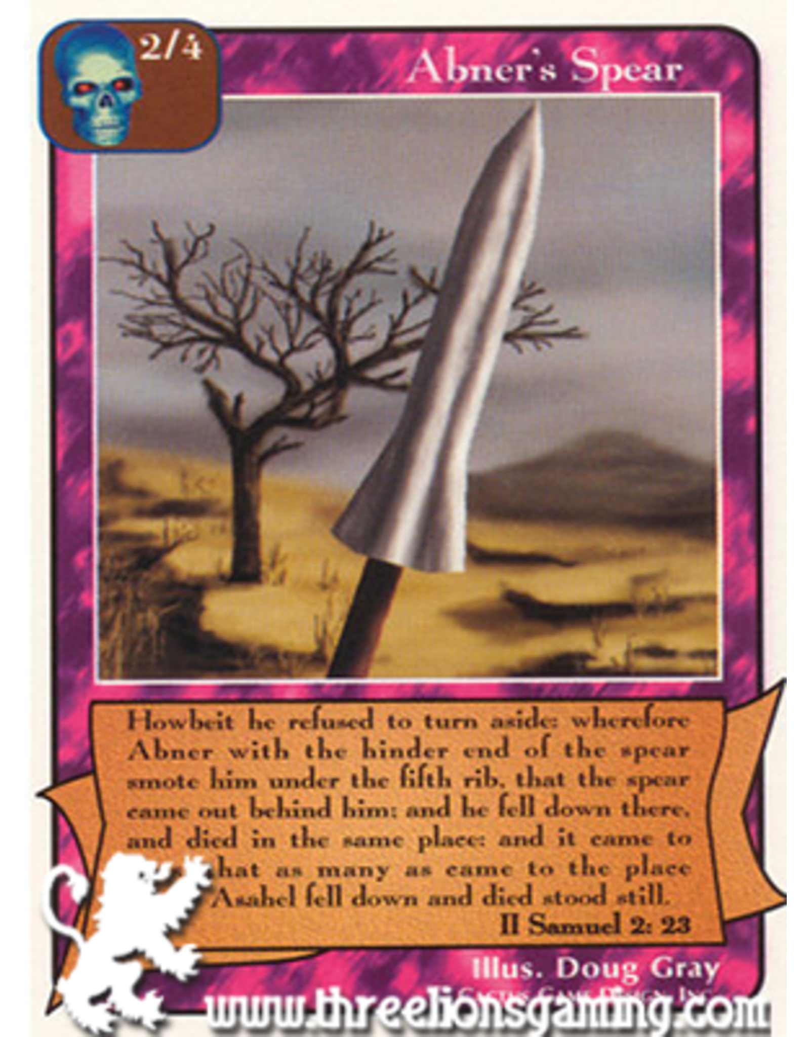 Wa: Abner's Spear