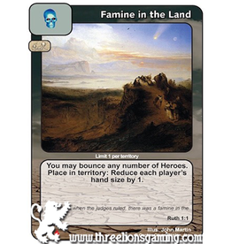 LoC: Famine in the Land