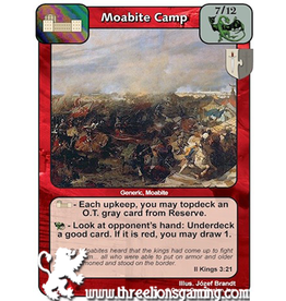 LoC: Moabite Camp