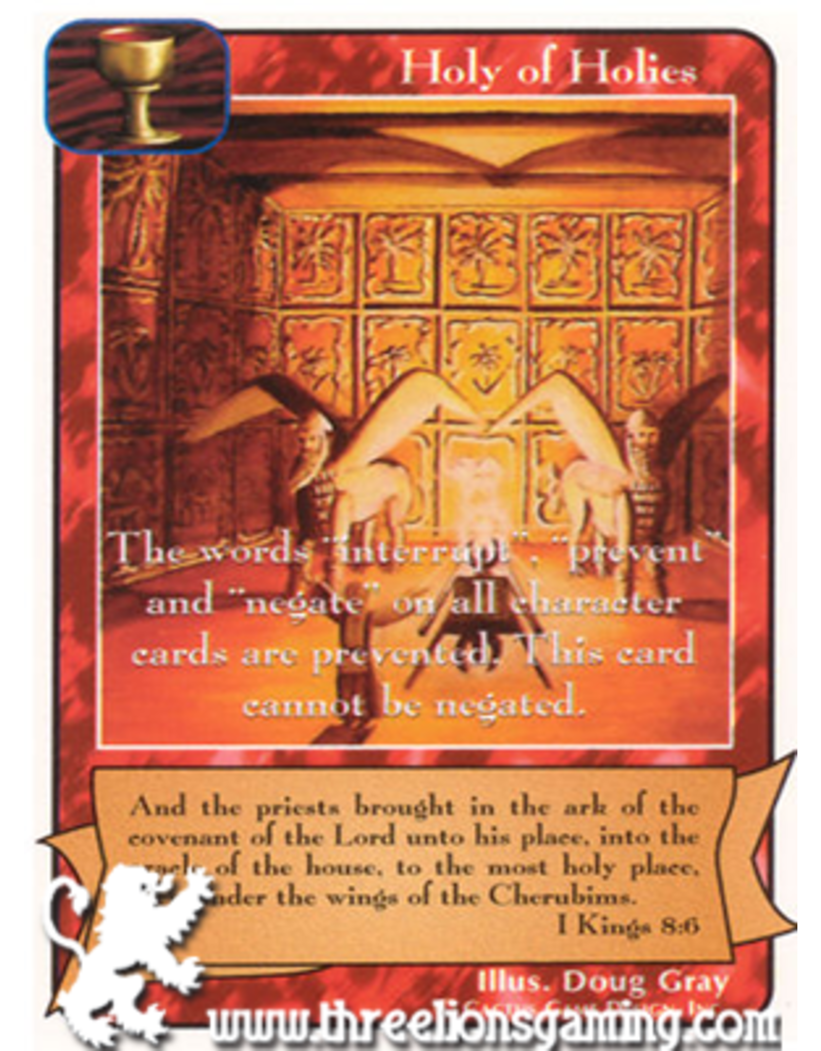 C/D: Holy of Holies