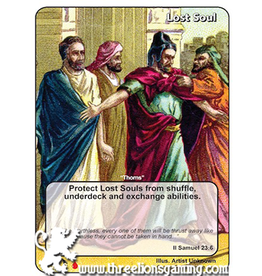 "LoC: LR Lost Soul ""Thorns"" (II Samuel 23:6)"