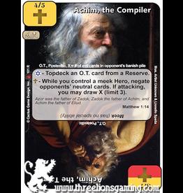 LoC: Achim, the Compiler / Achim, the Talmid