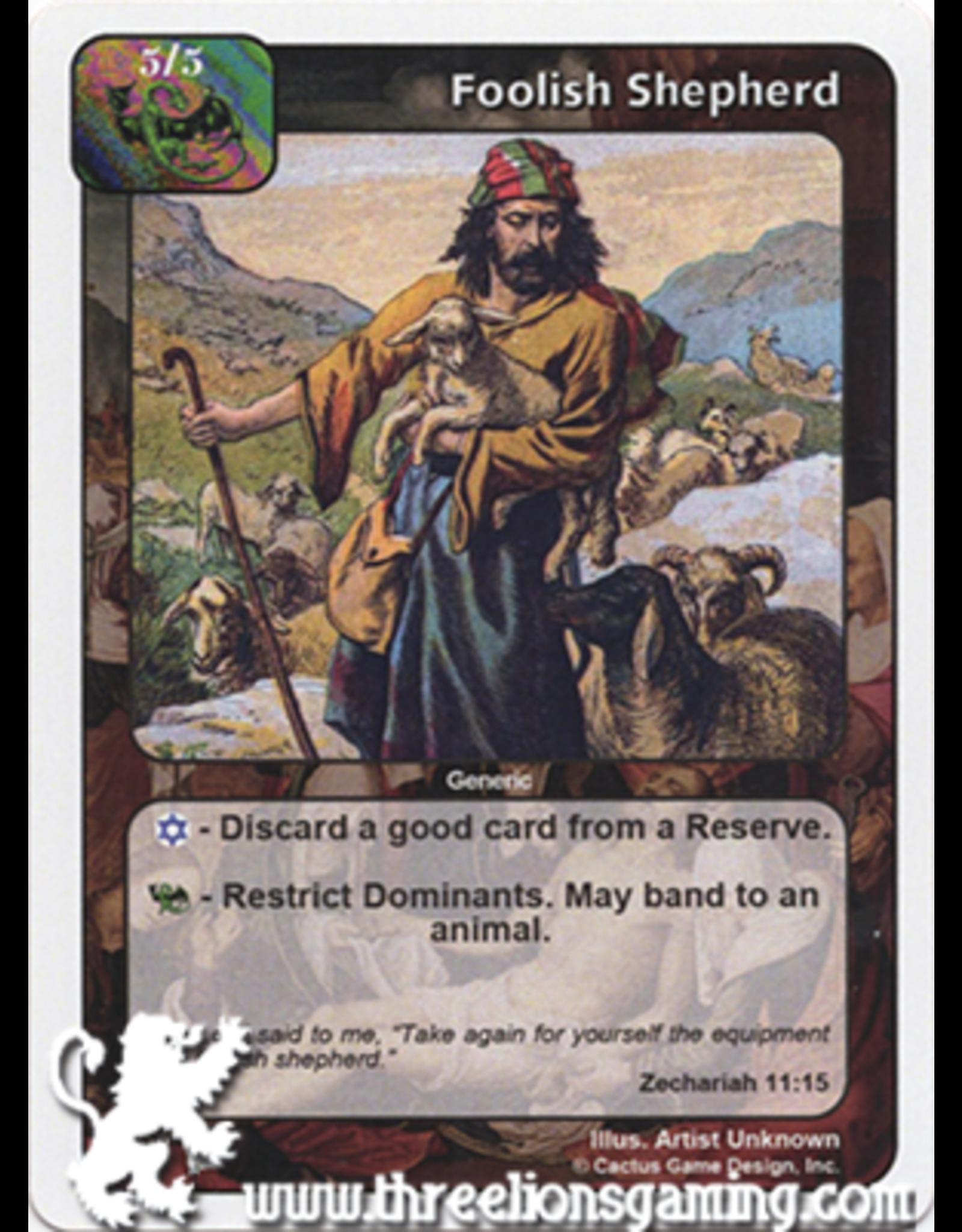 PoC: Foolish Shepherd