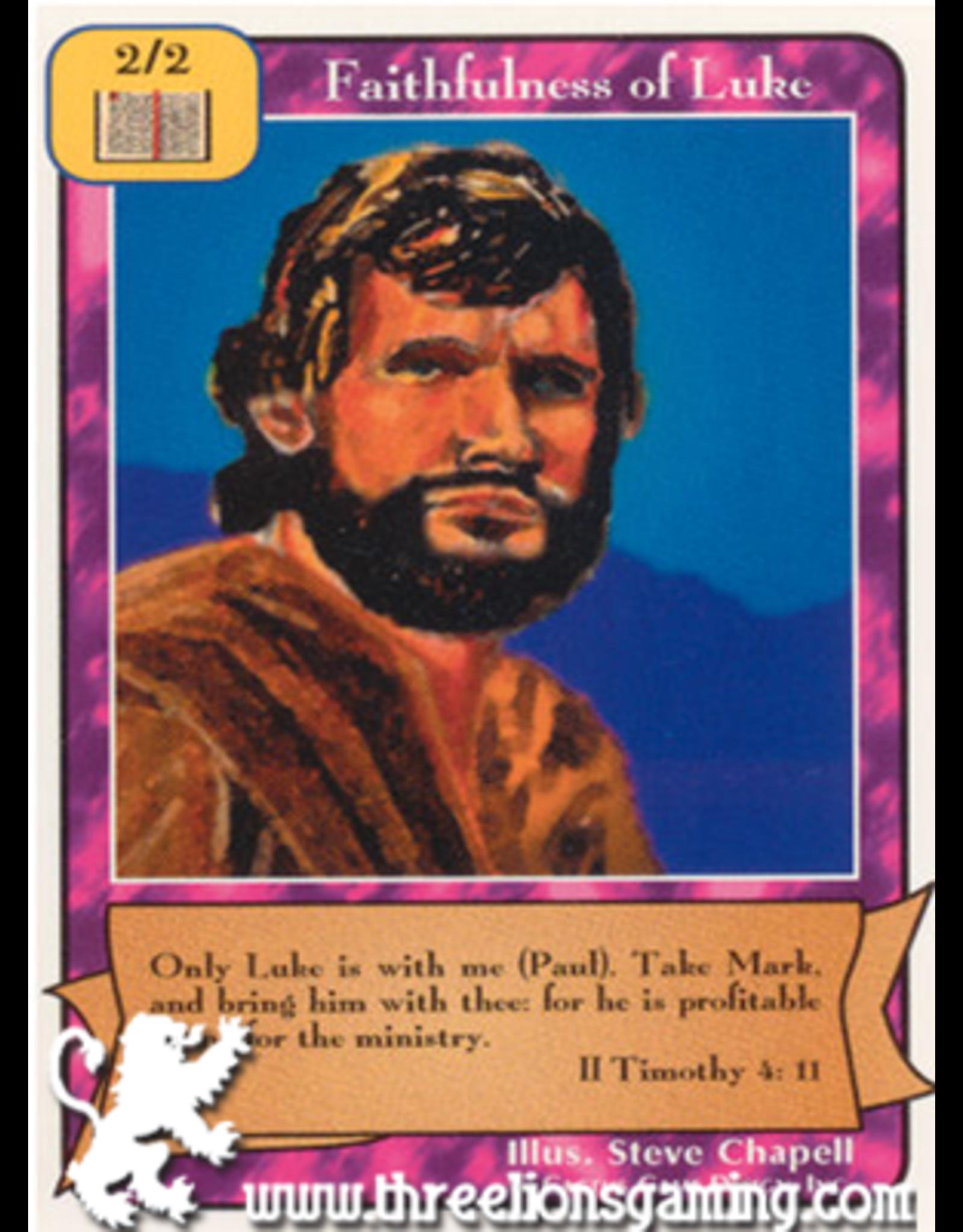 Orig: Faithfulness of Luke
