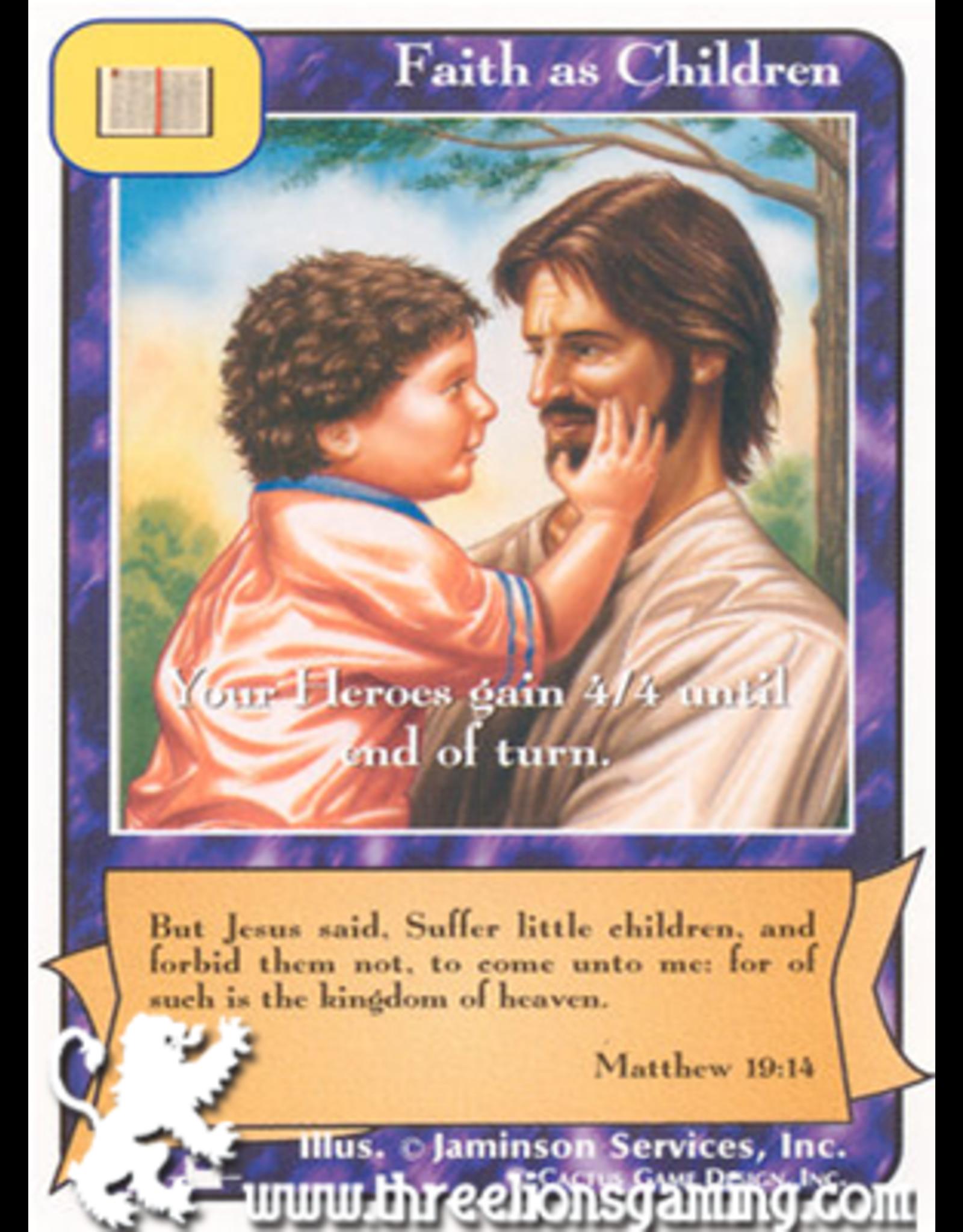 Priests: Faith as Children