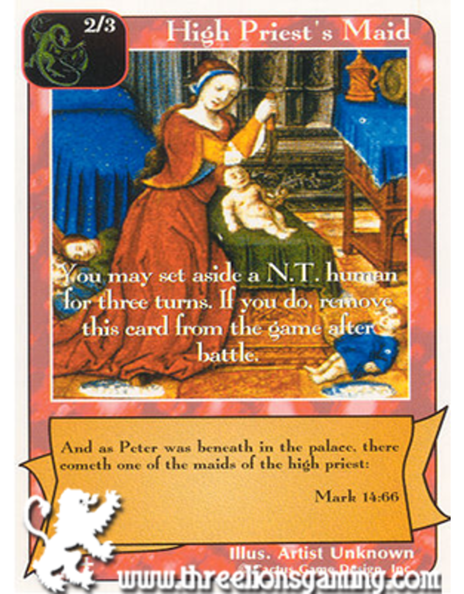 RoA: High Priest's Maid