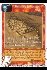 Ki: Breaking Jerusalem's Wall