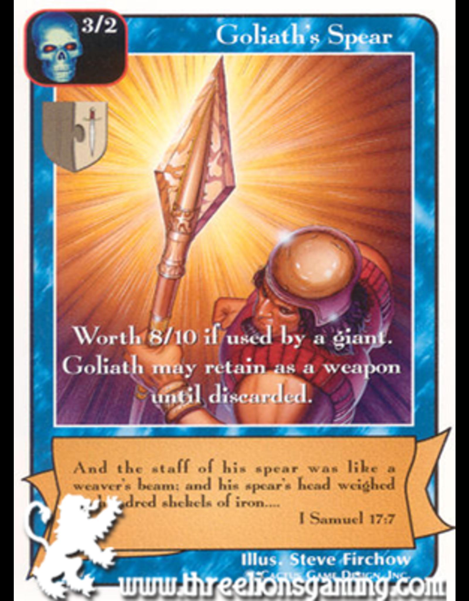 Ki: Goliath's Spear