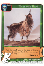 Prophets: Goat with Horn