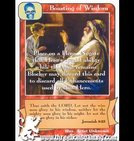 Priests: Boasting of Wisdom