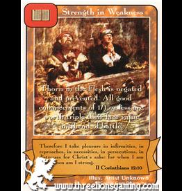 Ap: Strength in Weakness