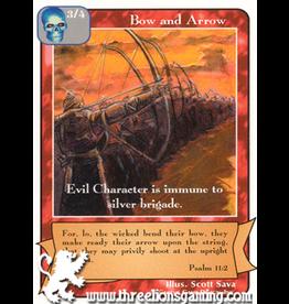 C/D: Bow and Arrow