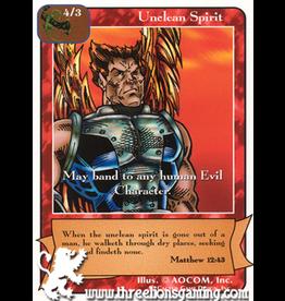 E/F: Unclean Spirit