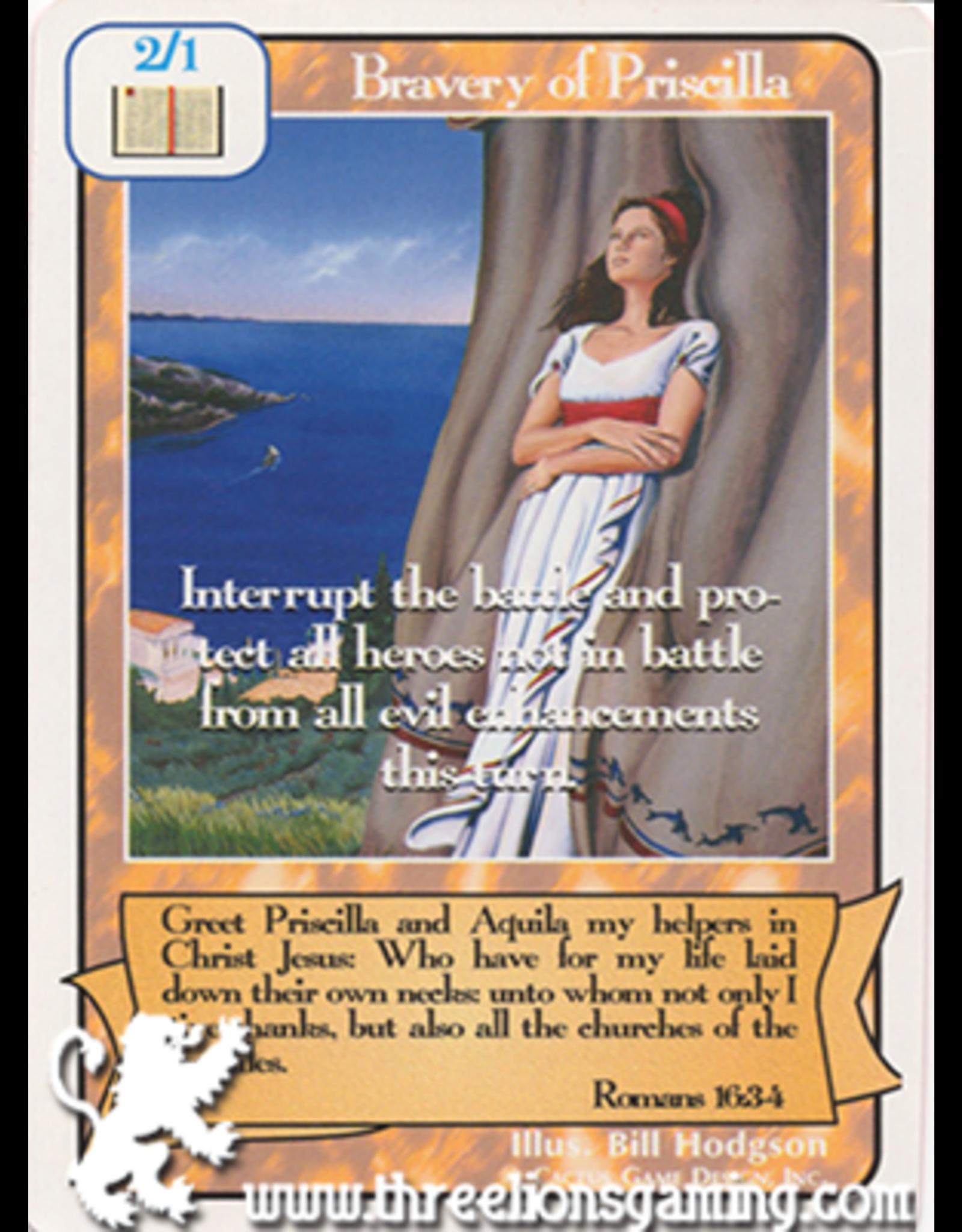 G/H: Bravery of Priscilla