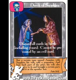 G/H: Deceit of Sapphira