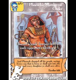 G/H: Pharaoh's Murderous Order