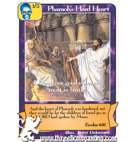 G/H: Pharaohs' Hard Heart