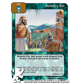 I/J: I/J: Achan's Sin