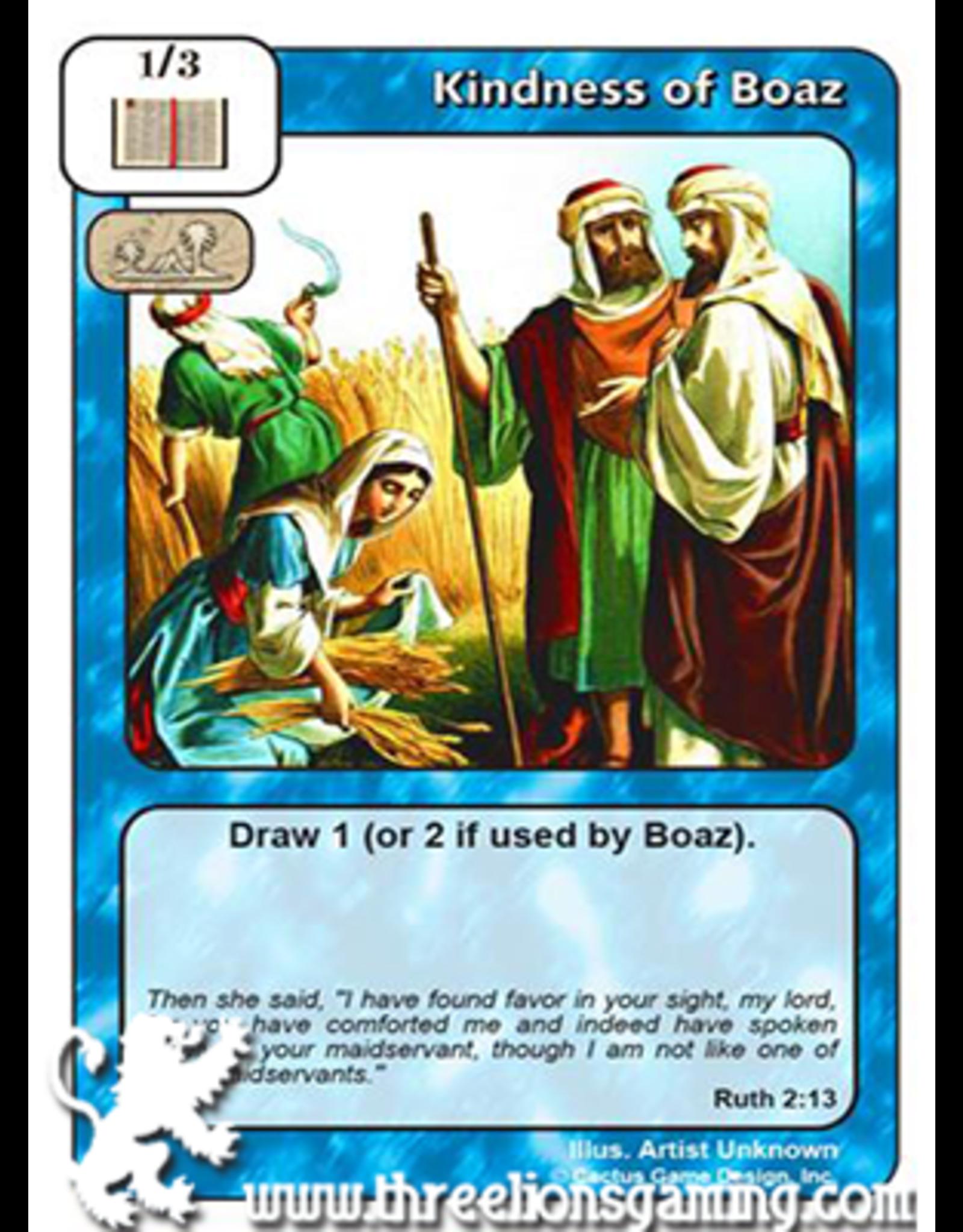 I/J: Kindness of Boaz