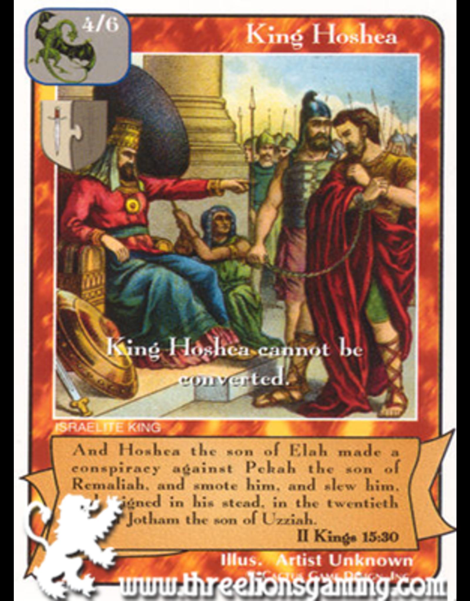 Ki: King Hoshea