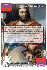 LoC: Jotham, the Mighty / Jotham, the Upright