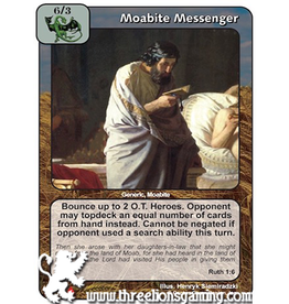 LoC: Moabite Messenger