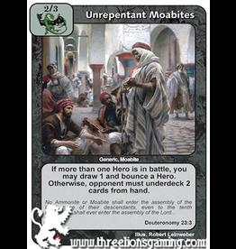 LoC: Unrepentant Moabites
