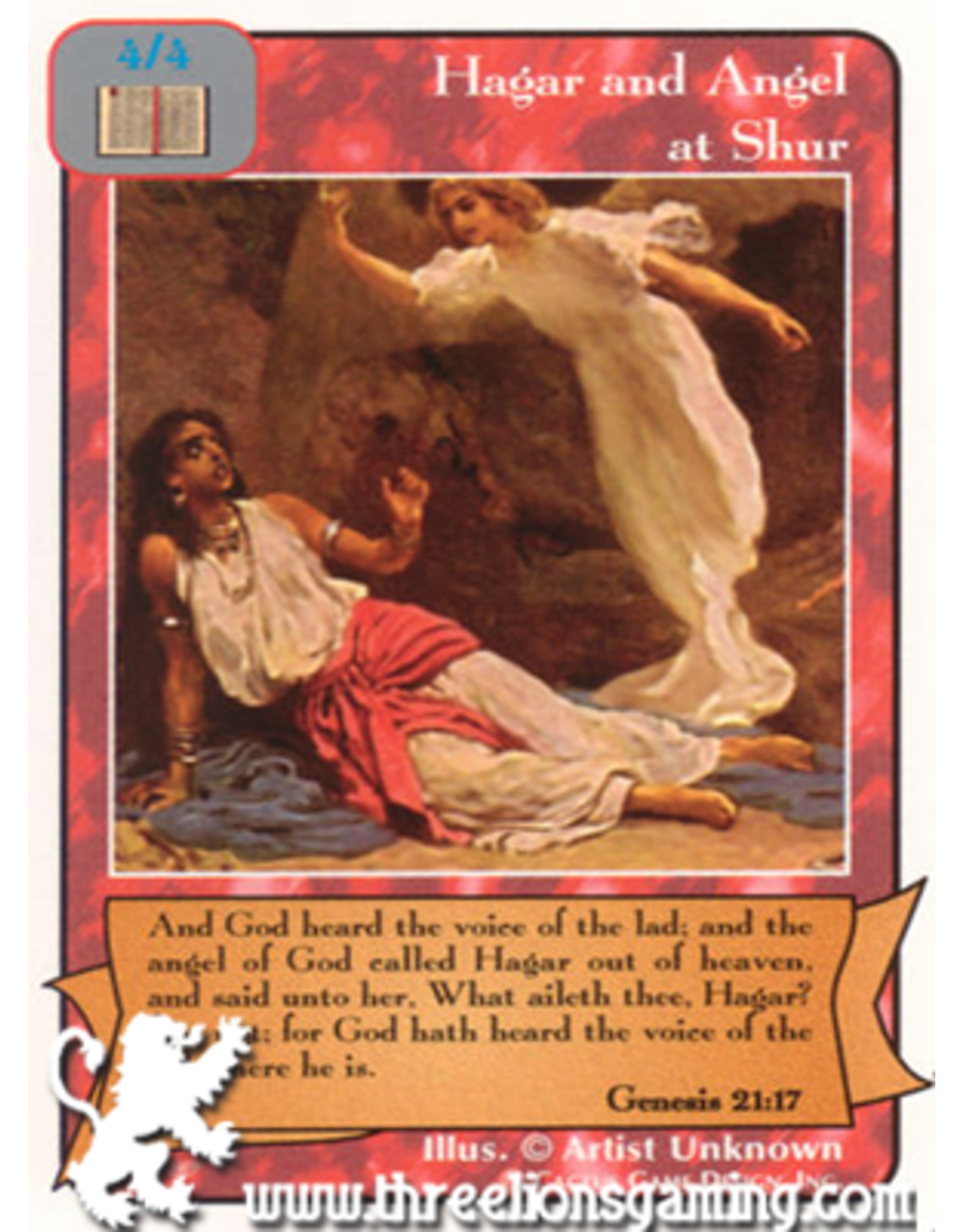 Pa: Hagar and Angel at Shur