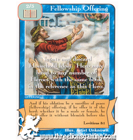 Priests: Fellowship Offering