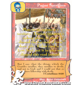 Priests: Pagan Sacrifices