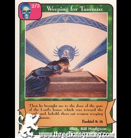 Prophets: Weeping for Tammuz